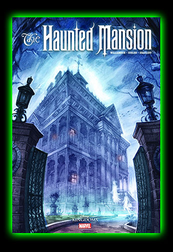 Halloweentown Store: Marvel The Haunted Mansion Hardcover Comic Book