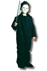 Halloweentown Store: Michael Myers Jumpsuit Kids Costume