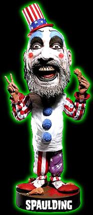 Captain Spaulding Head Knocker Bobblehead  sc 1 st  Halloweentown Store & Halloweentown Store: Captain Spaulding Head Knocker Bobblehead