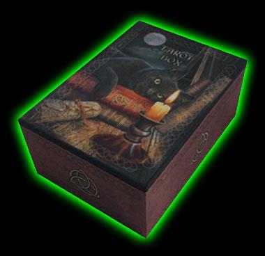 Halloweentown Store: Witching Hour Black Cat Tarot Box