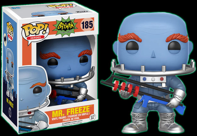 Batman TV Series Mr Freeze Funko Pop Vinyl Figure