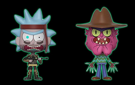 Scary Terry The Rick and Morty TV Show POP Animation #300 Vinyl Figur Funko