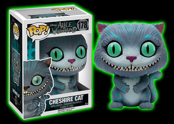 Halloweentown Store Tim Burton Alice In Wonderland Cheshire Cat Pop Vinyl Figure